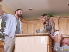 Sexy Payton West gets a well needed stuffing