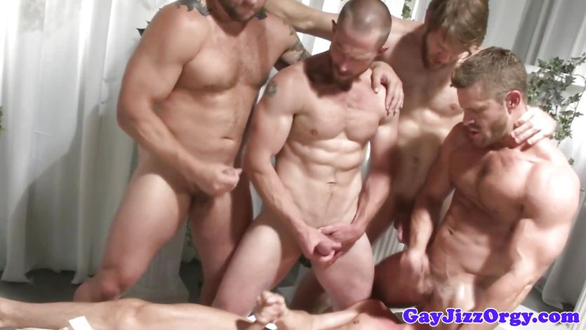 gay group man naked