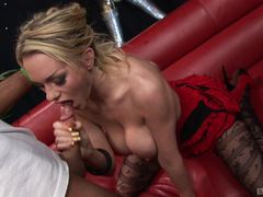 Randy babe Paige Ashley loves hard cock