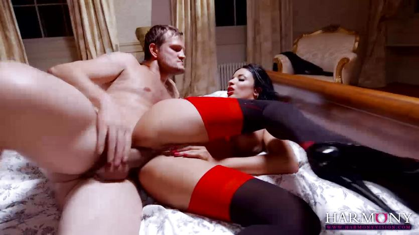 Anissa Kate takes this hard dick deep in her tight ass