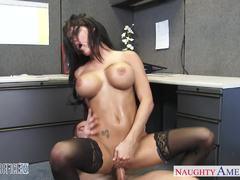Peta Jensen enjoys a rough pussy pounding