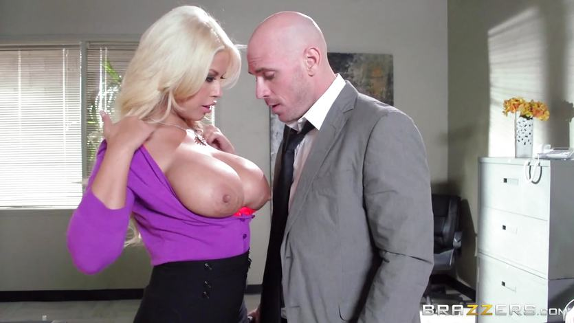 Bad girl Bridgette B is watched as she fucks