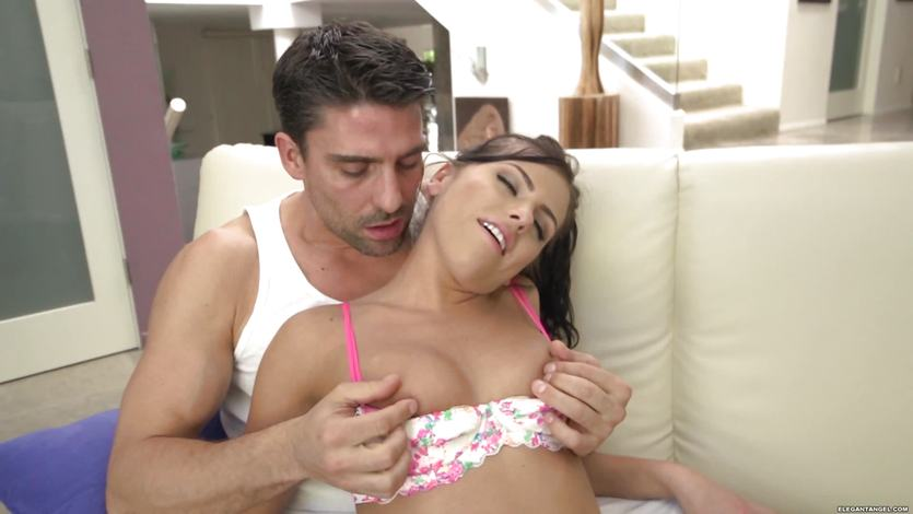 Adriana Chechik gets pussy and ass pumped