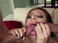 Tori Avano banged by two dicks in unison