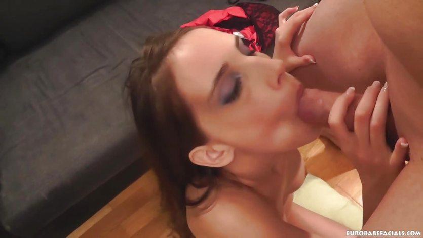 Tina Blade devours this hard cock
