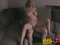 Blonde amateur loves cock