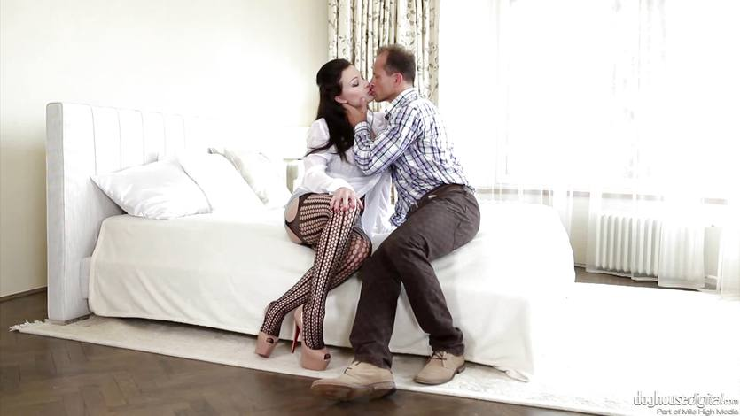 Aletta Ocean smashed doggystyle by her husbands brother