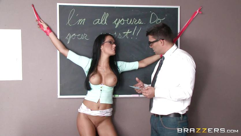 Horny teacher fucks dirty student Gabriella Salvatore