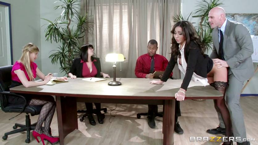 Pantyhose Lesbians The Office