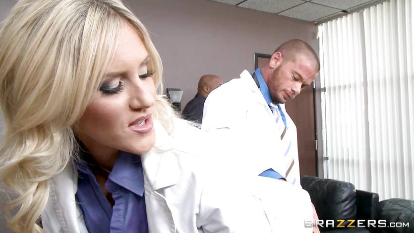 Naughty doctor Audrey Show gets her punishment