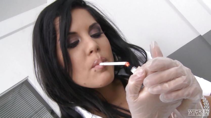 Madison Parker smoking hot blowjob