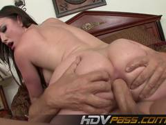 Jennifer White gets her ass filled with hard cock