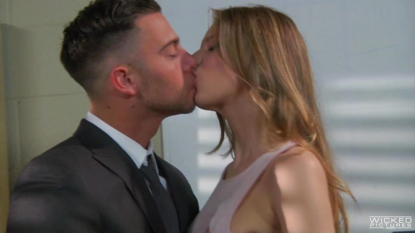 Sexy secretary Jillian Janson fucks her boss