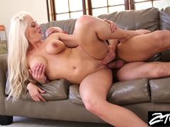 Revenge sex for a hot blonde MILF