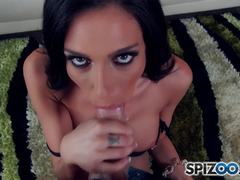 Jaclyn Taylor keeping her mouth busy