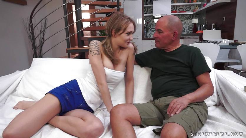 Belle Claire gets fucked by her naughty stepdad