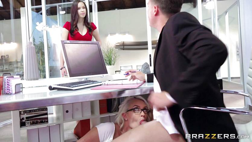 Boss gets busted fucking ebony office bbw