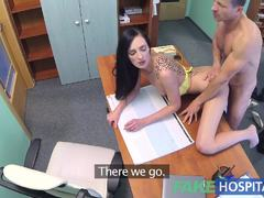 Blowing the doctors cock