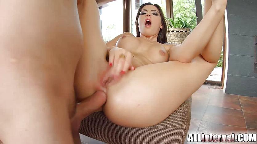 Cecilia De Lys enjoys a rough anal pounding