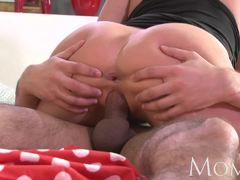 Hot blonde babe enjoys a hard cock