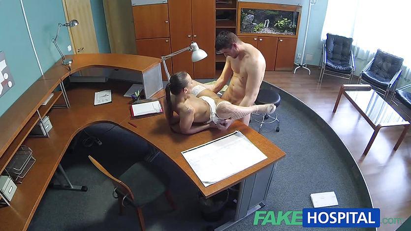 Naughty nurse loves to fuck