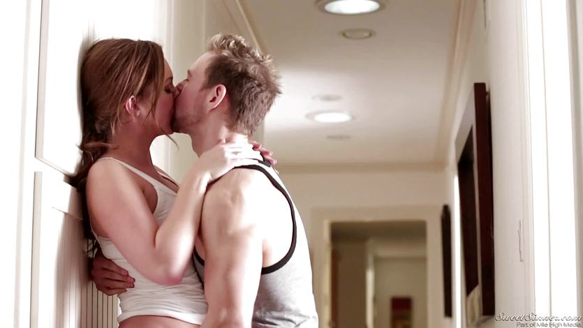 Maddy OReilly rammed by Erik Everhard