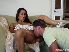 Pounding Abby Lee Brazil in her wet flange
