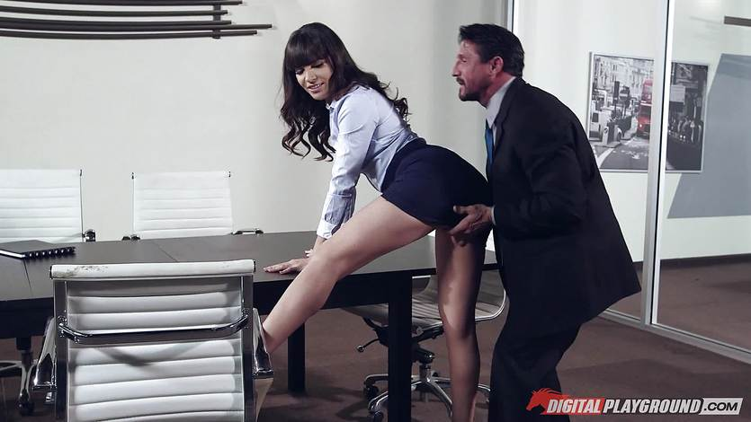 Dana DeArmond drilled hard by Tommy Gunn