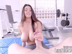 Alison Tyler is a horny hot brunette