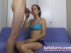 Lelu Love is a naughty cock sucker