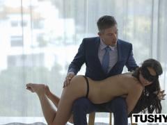 TUSHY Seductive Taylor May loves anal sex