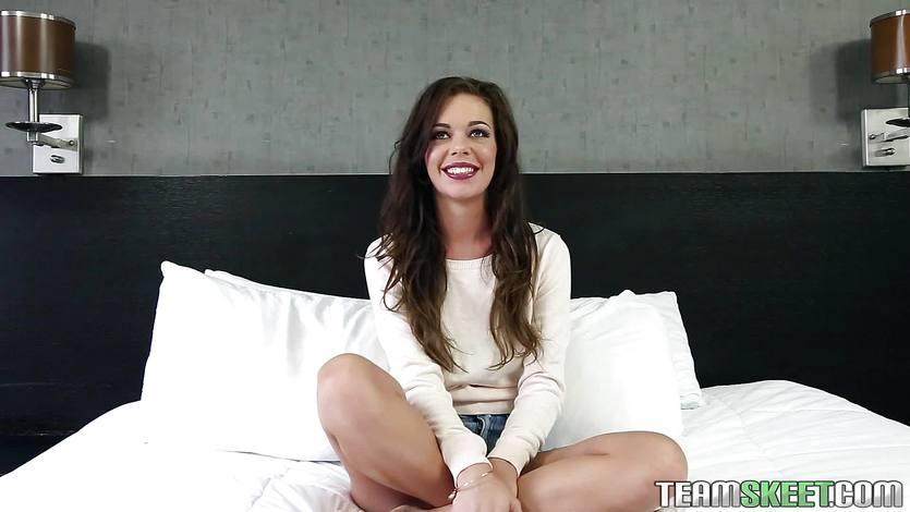 Hot teen Stella Daniels POV