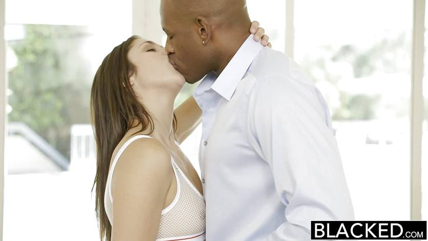 BLACKED First interracial for beauty Anna Morna