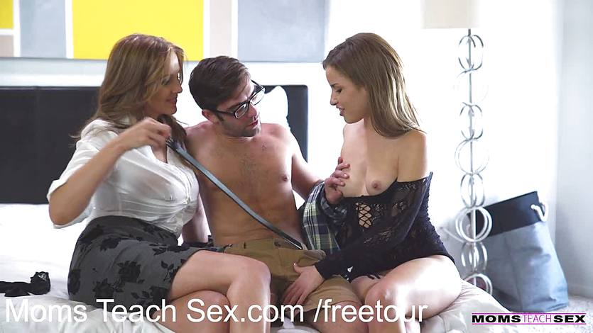 Moms teach sex mothers ultimate threesome fuck