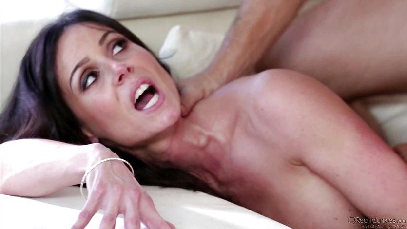 Frustrated Kendra Lust fucks her husbands pal
