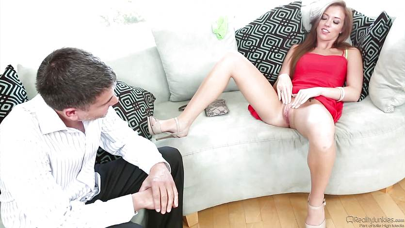 Babysitter Maddy OReilly seduces her lucky boss