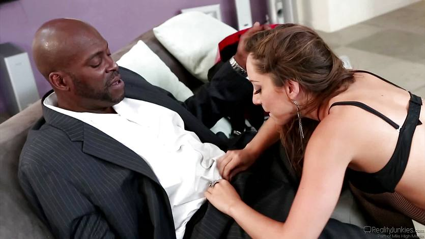 Naughty rich girl Remy Lacroix fucks the driver