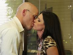 Office fucking from India Summer for a horny salesman