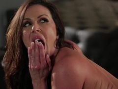 Hot MILF Kendra Lust gets a portion of a big dick