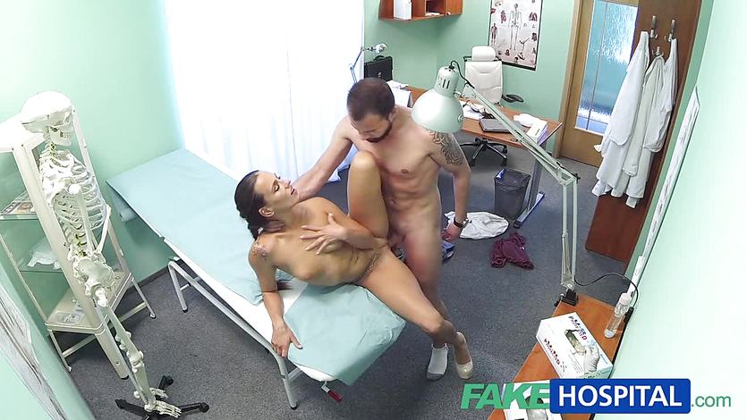 Nurse gets fucked hard