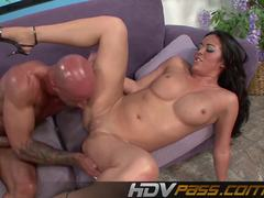 Mia Lelani rides and sucks cock