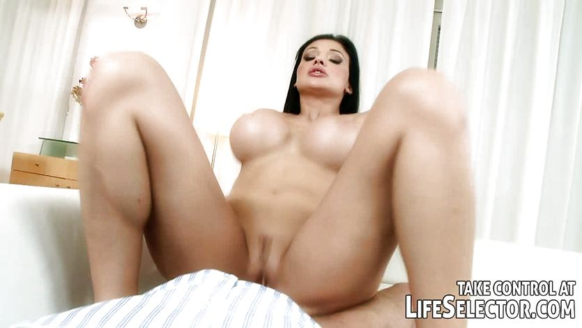 Sizzling babe Aletta Ocean gets her warm pussy nailed