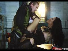 Jasmine Jae bent over and rammed