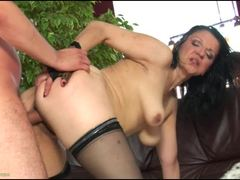Housewife Reena Sky gets her pussy pummelled