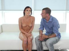 First time porn fucking with sexy Jessie Law
