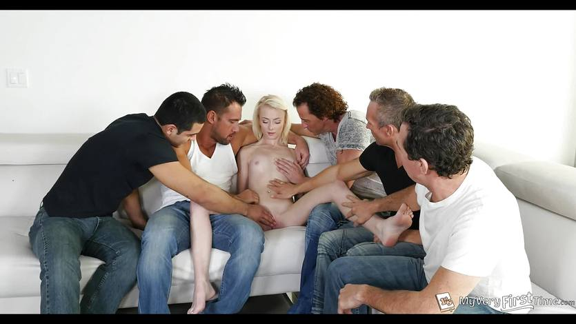 Maddy rose first time gangbang