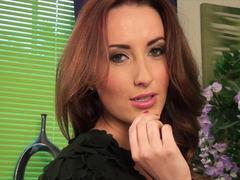 Hot solo masturbation with sexy Sophia Smith