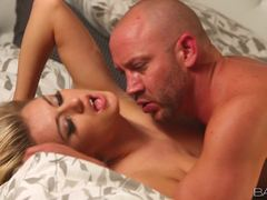 Cock crazy babe Natalia Starr craves her mans dick