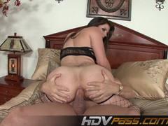 Wild Bobbi Starr gets her ass hammered