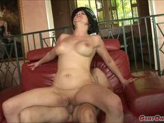 Sensual Cassidy Lynn bounces on this hard cock